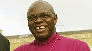The Archbishop of York Dr John Sentamu will represent The Archbishop of Canterbury, Justin Welby