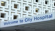 City hospital in Birmingham