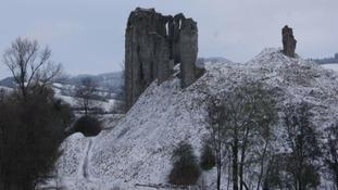 Snowy Shropshire Hills