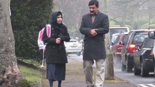 Malala back at school