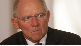 German Finance Minister Wolfgang Schaeuble.