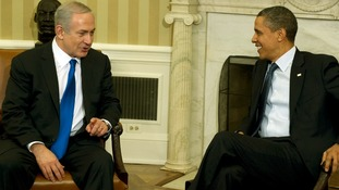 Barack Obama welcomed Prime Minister Benjamin Netanyahu to the White House last March