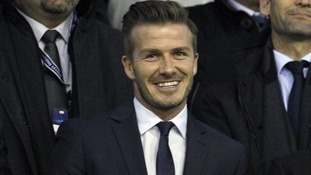 David Beckham heads to Beijing
