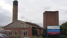 Exterior of Frenchay Hospital