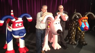 Two men and Gromits