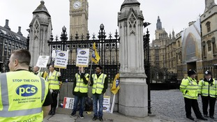 Picket outside the Place of Westminster