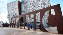 The new Titanic Visitor centre in Belfast. 