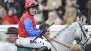Katie Walsh will be riding her debut Grand National race today.