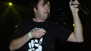 Napalm Death's Mark 'Barney' Greenway.