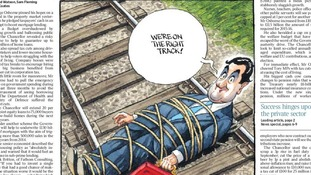 'We're on the right track' the Times on George Osborne's fourth Budget