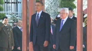Obama and Palestinian Authority President Mahmoud Abbas will hold a working lunch
