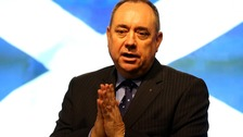 Scottish First Minister Alex Salmond will announce the referendum date later today.