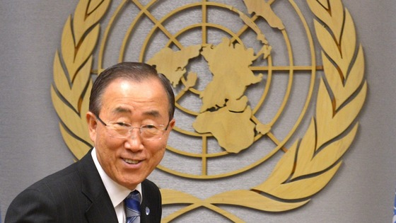 UN Secretary-General Ban Ki-moon