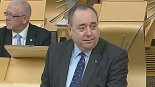 Scotland's First Minister Alex Salmond.