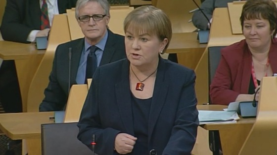 Scottish Labour leader Johann Lamont.