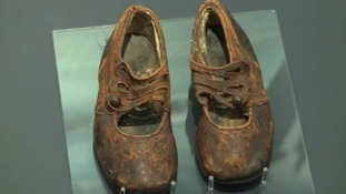 The Titanic child shoes