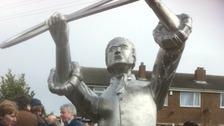 new statue