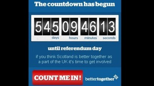 The Better Together has created this campaign clock to countdown the days.