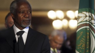 Kofi Annan's peace plans appears to have broken down in Syria.