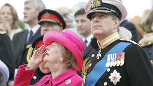 Margaret Thatcher grappled with the deployment of the Duke of York to the Falklands