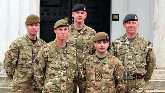 Recipients of the Military Cross