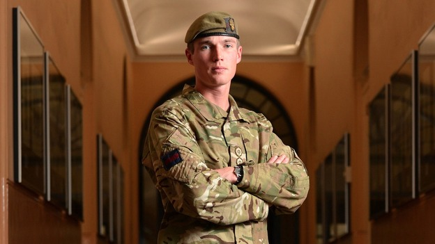 Ministry of Defence of Captain Michael Dobbin, 28, from the Grenadier Guards