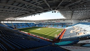 The Ricoh Arena, the stadium at the centre of the dispute