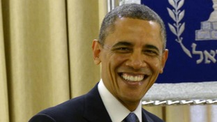President Barack Obama welcomed the telephone conversation between the leaders.