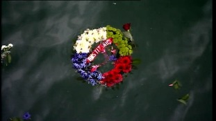 Tributes to those lost on Titanic