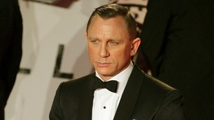 James Bond star Daniel Craig arrives for the world premiere of Skyfall, which Watkins worked on.