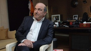 Berezovsky pictured in his London office.