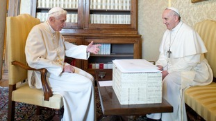 The new pope and his predecessor discuss the future of the Catholic Church.