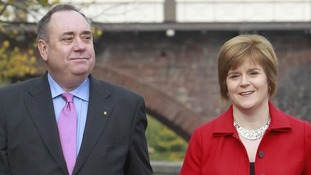 First Minister Alex Salmond and Deputy First Minister Nicola Sturgeon