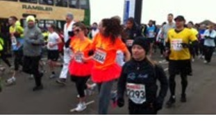 Runners get going