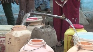 Lack of water sanitation in India