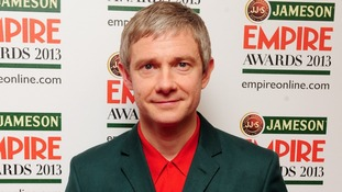 Martin Freeman who won the Best Actor award.
