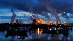 Redcar steel plant, North Yorkshire