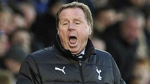Tottenham Hotspur manager Harry Redknapp.