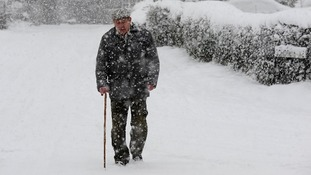Older people are particularly vulnerable in the cold weather