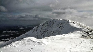A fell known as the Old Man of Coniston in the Lake District