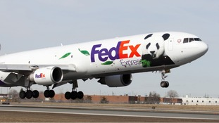The 'Panda Express' taking off from Chengdu in China