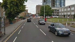 Google Map image of Wellesley Road, Croydon