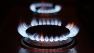 File photo of gas rings on a cooker.