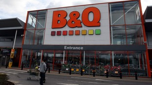A general view of the B&Q store in Hayes.