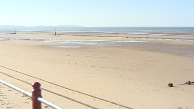Rhyl Beach Failed to Meet