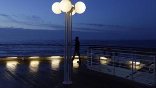 MS Balmoral deck