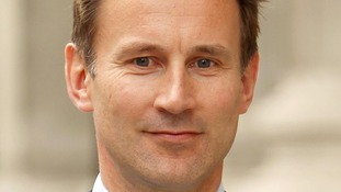 Jeremy Hunt delivered his recommendations to the Commons this lunchtime