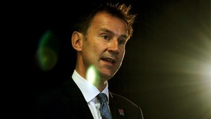 Jeremy Hunt backed NHS boss Sir David Nicholson