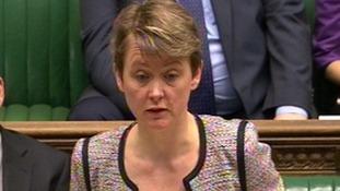 Shadow Home Secretary Yvette Cooper.