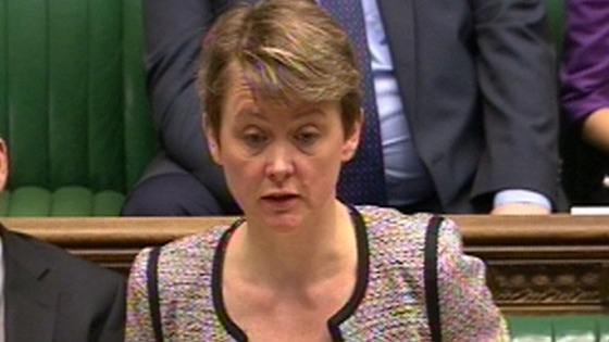 Shadow Home Secretary Yvette Cooper.